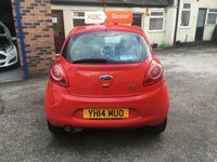 USED 2014 14 FORD KA 1.2 EDGE 3d 69 BHP Only £30 Road Tax & 34,000 Miles, Air Con, Remote Locking, 12 Mths Mot