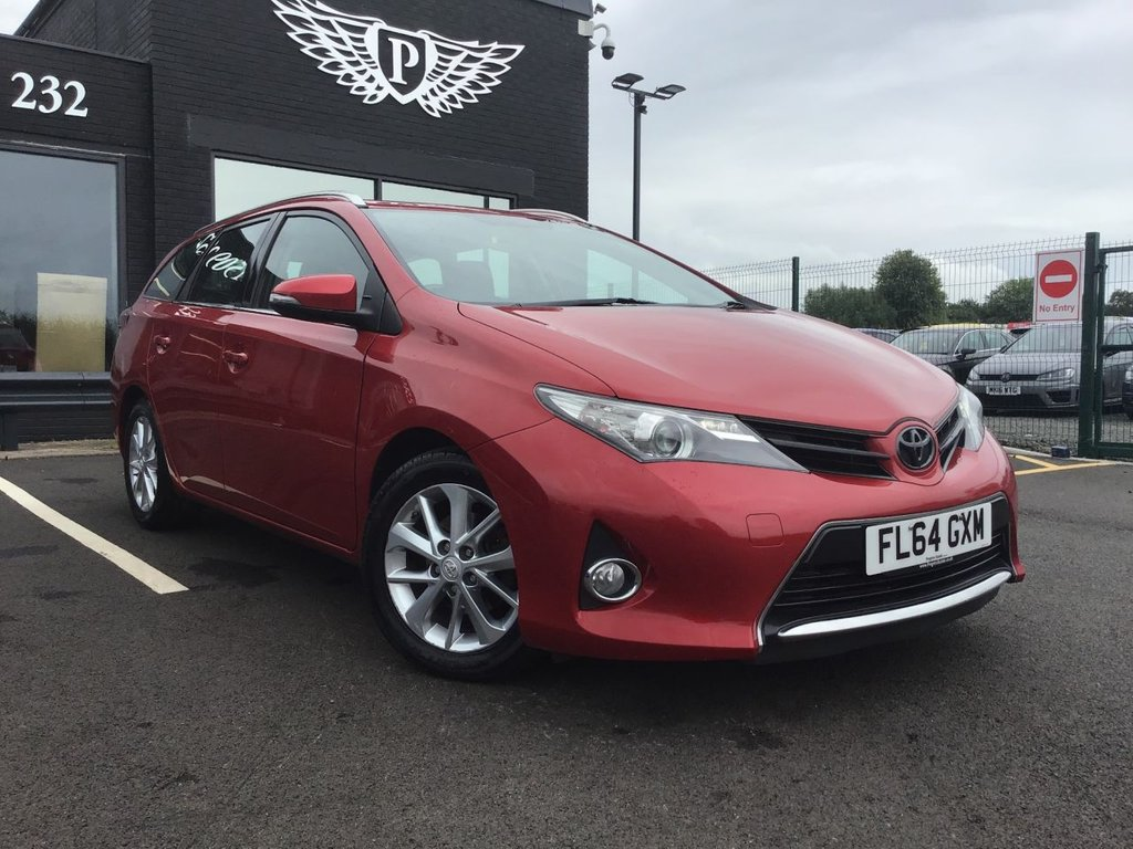 USED 2014 64 TOYOTA AURIS 1.4 ICON D-4D  5d 89 BHP £20 VED | LOW C02 EMISSIONS