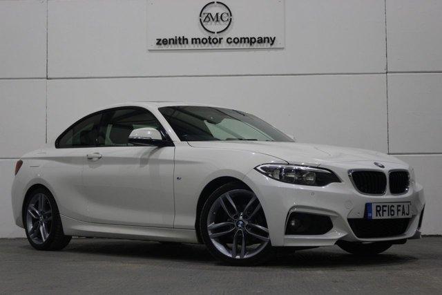 2016 16 BMW 2 SERIES 2.0 218D M SPORT 2d 148 BHP