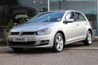 2014 VOLKSWAGEN GOLF 1.6 MATCH TDI BLUEMOTION TECHNOLOGY 5d 103 BHP £7614.00