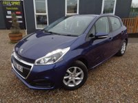 USED 2016 66 PEUGEOT 208 1.2 PureTech Active 5dr Bluetooth, DAB, 1 Owner
