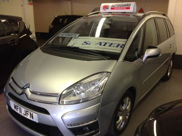2011 11 CITROEN C4 GRAND PICASSO 1.6 HDI EXCLUSIVE  7 SEATER