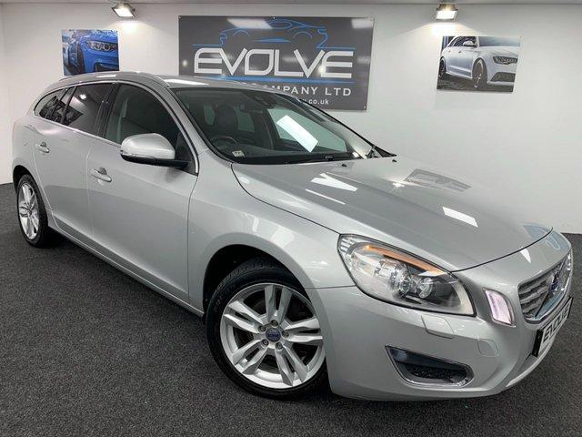 2012 62 VOLVO V60 1.6 D2 SE LUX 5d 113 BHP