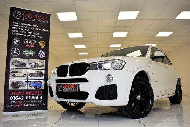 2014 64 BMW X4 XDRIVE20D M SPORT