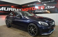 2017 MERCEDES-BENZ C-CLASS 2.1 C 220 D AMG LINE 4DOOR 170 BHP *CAVANSITE BLUE* £19450.00