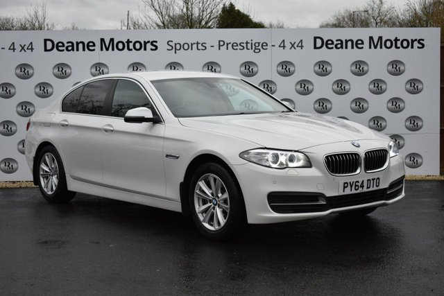 2015 64 BMW 5 SERIES 2.0 520D SE 4d 188 BHP