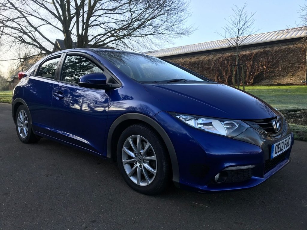USED 2012 12 HONDA CIVIC 1.8 I-VTEC EX 5d 140 BHP LOW MILEAGE + FULL HISTORY