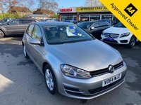 2014 VOLKSWAGEN GOLF 1.4 MATCH TSI BLUEMOTION TECHNOLOGY AUTOMATIC DSG 5d 120 BHP IN METALLIC SILVER WITH 55600 MILES, FULL SERVICE HISTORY, 1 OWNER AND A GREAT SPEC INCLUDING SAT NAV AND AUTOMATIC GEARBOX £9499.00