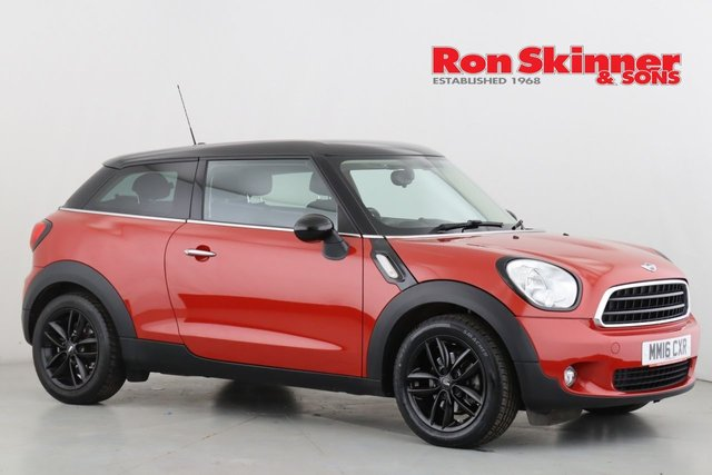 View our 2016 16 MINI PACEMAN 1.6 COOPER 3d AUTO 122 BHP with Pepper Pack + Media Pack