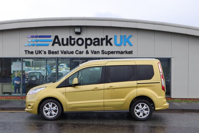 USED 2015 64 FORD TOURNEO CONNECT 1.6 TITANIUM TDCI 5d 94 BHP ALL CREDIT HISTORIES WELCOME*
