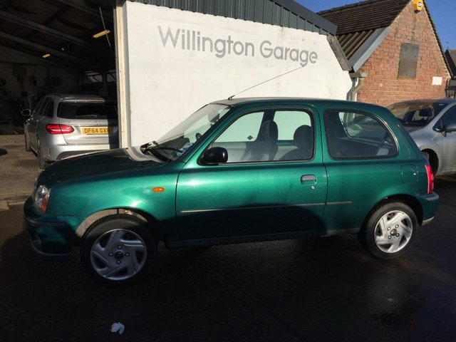 2001 Y NISSAN MICRA 1.0 VIBE S 16V 3d 59 BHP