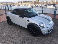 2013 MINI COUPE 1.6 COOPER 2d 120 BHP