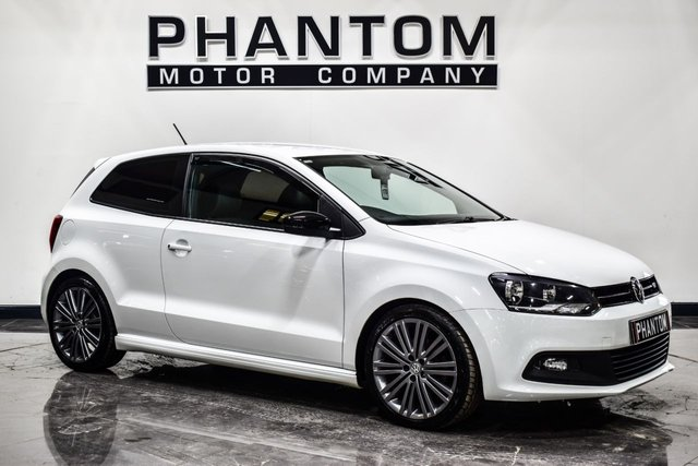 USED 2015 VOLKSWAGEN POLO 1.4 BLUEGT 3d 148 BHP