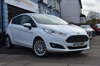 USED 2013 63 FORD FIESTA 1.0 TITANIUM 5d 124 BHP CAR FINANCE APPROVAL IN UNDER A MINUTE