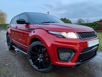 "USED 2014 14 LAND ROVER RANGE ROVER EVOQUE 2.2 SD4 PURE TECH 5d 190 BHP SVR BODY, 22"" RIVA WHEELS 2 TONE LEATHER SIDE STEPS HEATED SEATS"