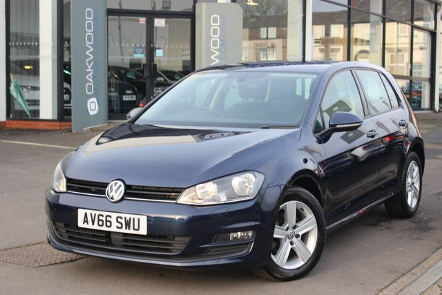 USED 2016 66 VOLKSWAGEN GOLF 1.6 TDI BlueMotion Tech Match Edition Auto DSG (s/s) 5dr