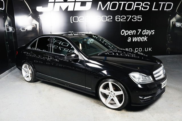 2011 02 MERCEDES-BENZ C CLASS 2011 MERCEDES C220 CDI BLUEEFFICIENCY SPORT NIGHT EDITION STYLE 170BHP (FINANCE AND WARRANTY)