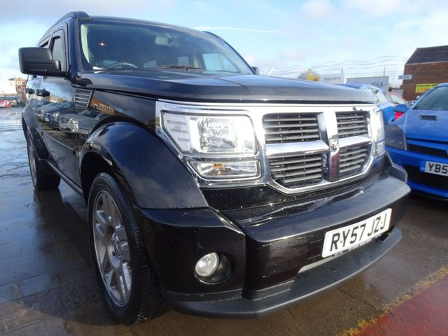 USED 2008 57 DODGE NITRO 2.8 SXT TD 5d 175 BHP DRIVES WELL NO ISSUES