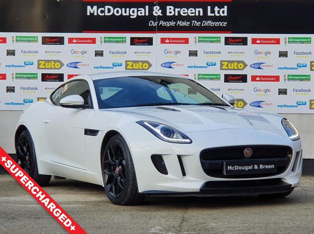 USED 2015 65 JAGUAR F-TYPE 3.0 V6 2d 340 BHP SUPERCHARGED SUPERCHARGED