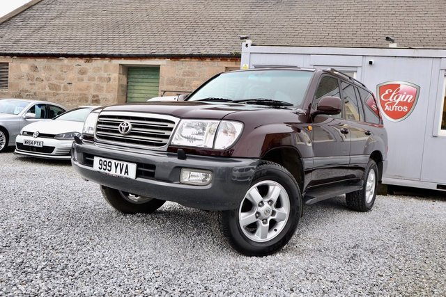 2004 04 TOYOTA LAND CRUISER AMAZON 4.2TD Auto 5dr [ 7 Seats ] ( 201 bhp )