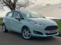 USED 2016 66 FORD FIESTA 1.2 ZETEC 5d 81 BHP NO DEPOSIT FINANCE AVAILABLE