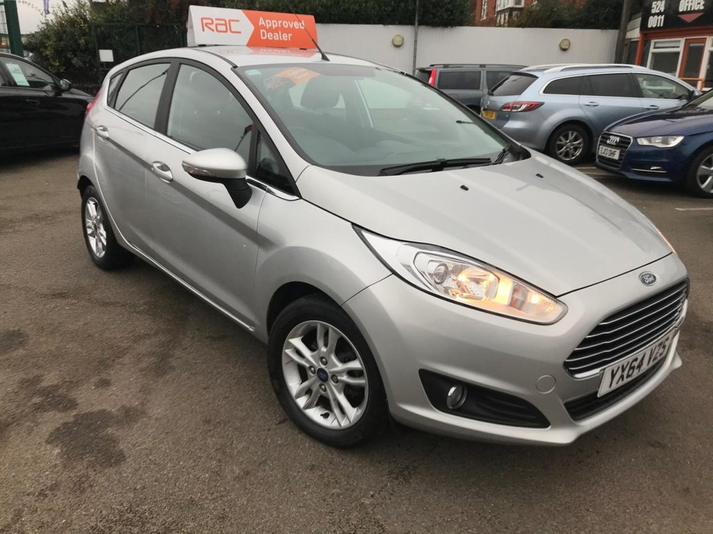 USED 2014 64 FORD FIESTA 1.0 ZETEC 5d 100 BHP AUTOMATIC ONLY 12000 MILES!!!