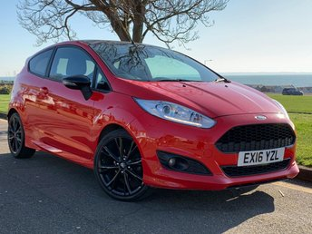 2016 FORD FIESTA 1.0 ZETEC S RED EDITION 3d 139 BHP £8999.00