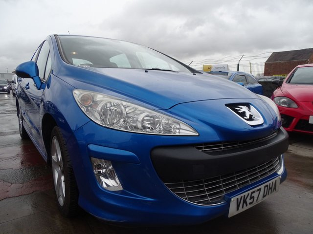 USED 2007 57 PEUGEOT 308 1.6 SPORT 5d 118 BHP LOW MILES DRIVES A1
