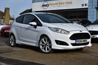 USED 2014 64 FORD FIESTA 1.0 ZETEC S 3d 124 BHP CAR FINANCE APPROVAL IN UNDER A MINUTE