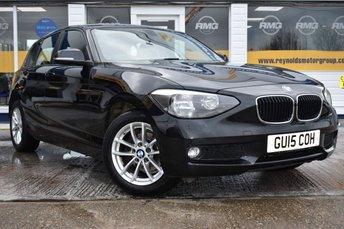 2015 BMW 1 SERIES 2.0 116D SE 5d 114 BHP £10999.00