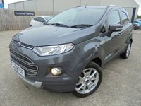 USED 2017 FORD ECOSPORT 1.0 TITANIUM 5d 124 BHP Brilliant Low Mileage, FSH, No Fee, No Deposit, No Final Payment Finance Available