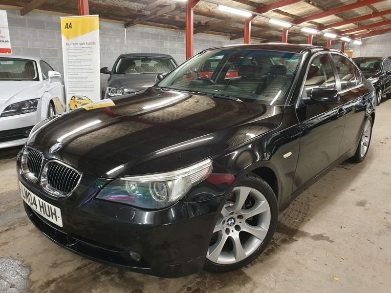 USED 2004 04 BMW 5 SERIES 545i SE 4.4 V8