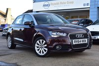 USED 2014 64 AUDI A1 1.2 SPORTBACK TFSI SPORT 5d 86 BHP COMES WITH 6 MONTHS WARRANTY