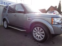 USED 2012 L LAND ROVER DISCOVERY 3.0 4 SDV6 XS 5d 255 BHP