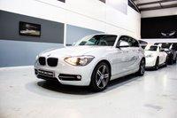 2013 BMW 1 SERIES 2.0 116D SPORT 3d 114 BHP £8491.00