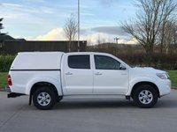 USED 2014 14 TOYOTA HI-LUX 2.5 ICON 4X4 D-4D DCB 142 BHP