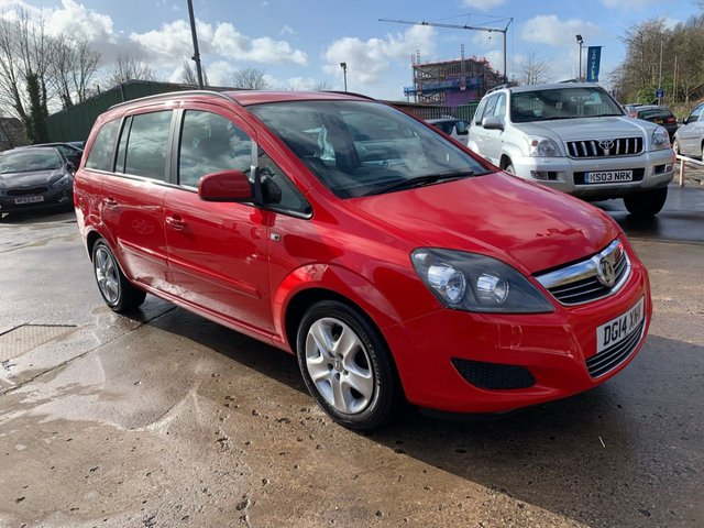 USED 2014 14 VAUXHALL ZAFIRA 1.8 EXCLUSIV 5d 120 BHP ONE OWNER FROM NEW / FULL SERVICE HISTORY