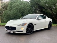 """USED 2012 62 MASERATI GRANTURISMO 4.7 S 2d 440 BHP LOW MILES,FULL SPEC, MC BODY,SPORTS EXHAUST,BOSE HIFI,20"""" WHEELS, STUNNING EXAMPLE, LOOKS AND SOUNDS!!!"""