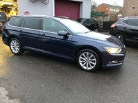 2016 VOLKSWAGEN PASSAT 2.0 SE BUSINESS TDI BLUEMOTION TECHNOLOGY 5d 148 BHP £9495.00