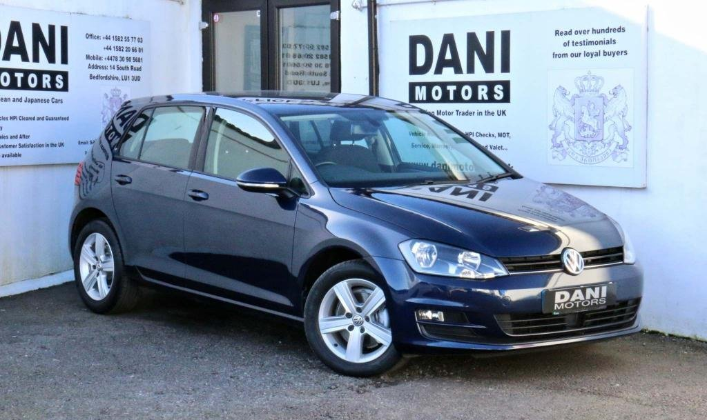 USED 2015 65 VOLKSWAGEN GOLF 1.6 TDI BlueMotion Tech Match Edition DSG (s/s) 5dr 1 OWNER*PARKING AID*BLUETOOTH