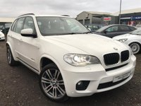 USED 2012 62 BMW X5 3.0 30d M Sport xDrive 5dr 2 OWNERS+FSH+ULTRA LOW MILES!!
