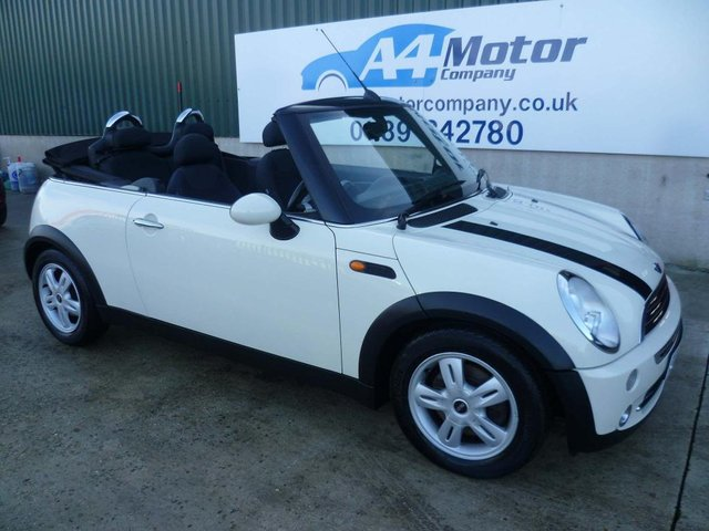 2007 07 MINI CONVERTIBLE 1.6 Cooper (Chili) 2dr