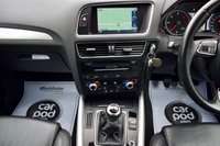 USED 2013 13 AUDI Q5 2.0 TDI QUATTRO S LINE S/S 5d 175 BHP FSH, NEW MOT, SAT NAV, SENSORS, HEATED LEATHER SEATS, DAB, B'TOOTH!