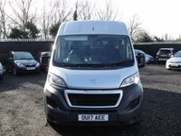 USED 2017 17 PEUGEOT BOXER 2.0 BLUE HDI 335 L3H2 PROFESSIONAL P/V 130 BHP ANY PART EXCHANGE WELCOME, COUNTRY WIDE DELIVERY ARRANGED, HUGE SPEC