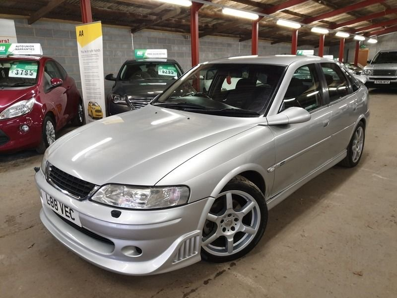 USED 2001 L VAUXHALL VECTRA 2.6 GSI V6 MSD EDITION