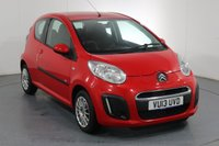 USED 2013 13 CITROEN C1 1.0 VTR 3d 67 BHP Demo and 2 OWNERS with 3 Stamp SERVICE HISTORY