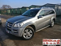 USED 2011 11 MERCEDES-BENZ GL CLASS 3.0 GL350 CDI BLUEEFFICIENCY 5d 265 BHP REAR DVD SATNAV SUNROOF LEATHER CRUISE CLIMATE  4WD. 7 SEATER. SATELLITE NAVIGATION. DUAL SUNROOF. STUNNING GREY MET WITH FULL GREY LEATHER TRIM. ELECTRIC HEATED SEATS. CRUISE CONTROL. 19 INCH ALLOYS. COLOUR CODED TRIMS. PRIVACY GLASS. PARKING SENSORS. REVERSING CAMERA. ELECTRIC TAILGATE. BLUETOOTH PREP. DUAL CLIMATE CONTROL INCLUDING AIR CON. TRIP COMPUTER. R/CD PLAYER. MFSW. SIDE STEPS. TOW BAR. ROOF BARS. MOT 09/20. SERVICE HISTORY. PRESTIGE SUV CENTRE - LS23 7FR. TEL 01937 849492 OPTION 1