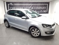 USED 2013 13 VOLKSWAGEN POLO 1.2 MATCH 5d + PRIVACY GLASS + ALLOYS + 2 KEYS