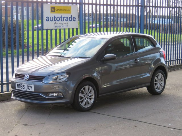 USED 2015 65 VOLKSWAGEN POLO 1.2 SE TSI 3dr ULEZ COMPLIANT £20 Road Tax & Great Economy, DAB RADIO, ULEZ COMPLIANT