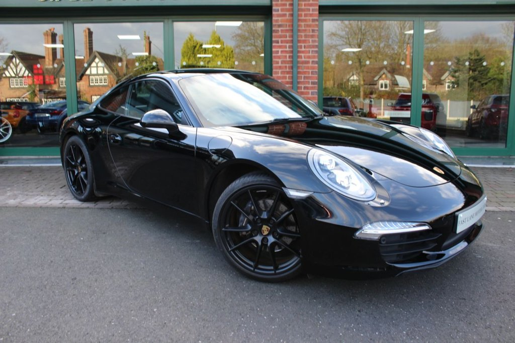 USED 2015 65 PORSCHE 911 3.4 CARRERA BLACK EDITION PDK 2 DOOR COUPE 350 BHP